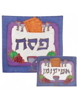 Silk Painted Matzah