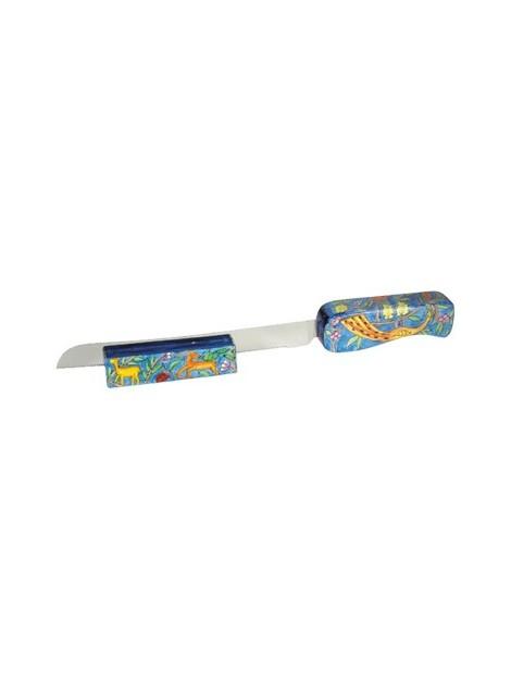 Couteau avec stand pour Hallah Oriental