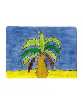 Wooden Hand Painted Placemat
