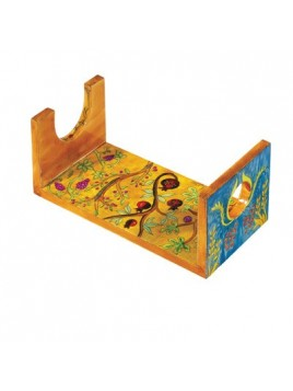 Wooden Shofar stand - large