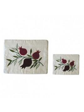 Pochette pour les tefilines en soie sauvage jerusalem