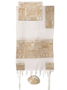 Tallit - Completely Hand Embroidered