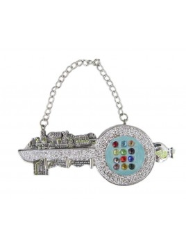 Hanging Key Holders Small Silver 925