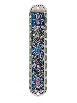 Boitier Mezouzah sertie de cristaux