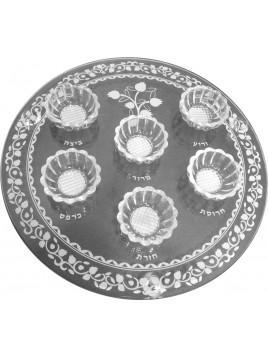 Seder Plate Crystal