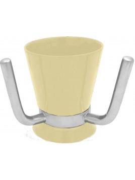 Wash Cup Enamel Ivory