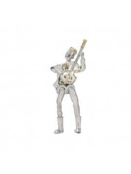 Chellos player Seated Silver