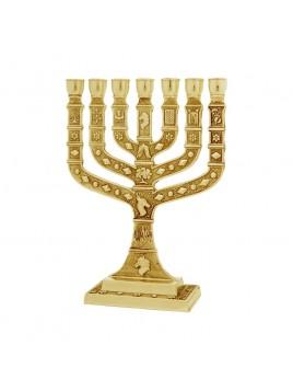 Menorah Knesset 16 cm Silver