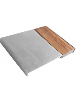 Plateau a pain bois et aluminium