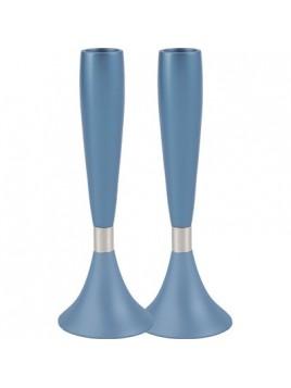 Chandeliers moyen anodisé Bleu