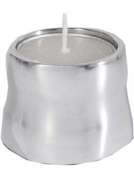 Veilleuse aluminium brillant