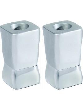 Chandeliers deux parties aluminium