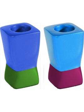 Chandeliers deux parties multicolore