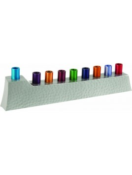 Hannoukiah bâtons multicolore