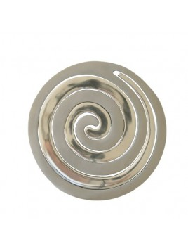 sous plat pour casserole Aluminium en deux morceaux spirale