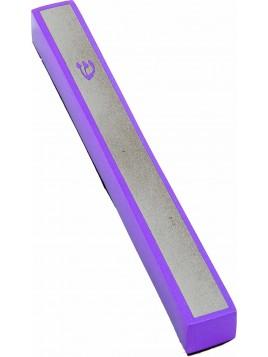 Boitier de Mezouza Shin violet
