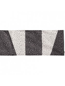 Centre de Table 100 cm en noir et blanc