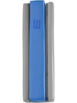 Boitier Mezouza 2 Morceaux 10cm Mat bleu + turquoise
