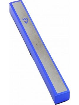 Boitier de Mezouza Shin bleu