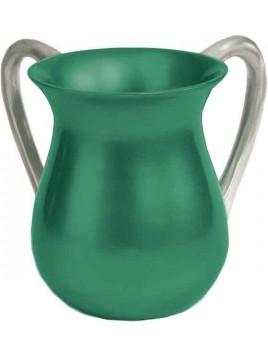 Keli de Netilat Yadayim Aluminium vert