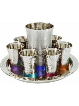 Set de 6 verres + Verre de Kiddouch multicolore