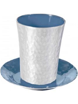 Coupe de Kiddouch tons bleue