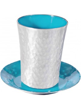Coupe de Kiddouch tons Turquoise